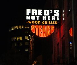 Fred's Not Here