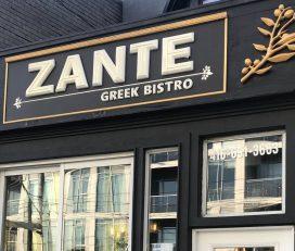 Zante Greek Bistro