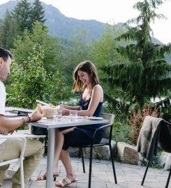 Dining at Nita Lake Lodge